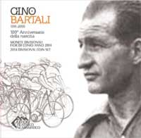 "Brilliant uncirculated divisional coin set with a 5.00 Euro silver coin - uncirculated  dedicated to the ""100th Anniversary of the birth of Gino Bartali"""